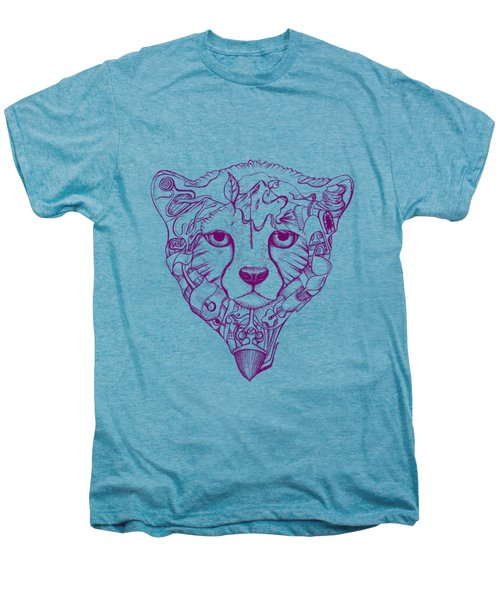 Iranian Cheetah Men's Premium T-Shirt by Adam Campbell