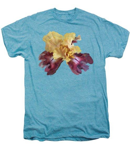Iris T Shirt Men's Premium T-Shirt by Nancy Pauling