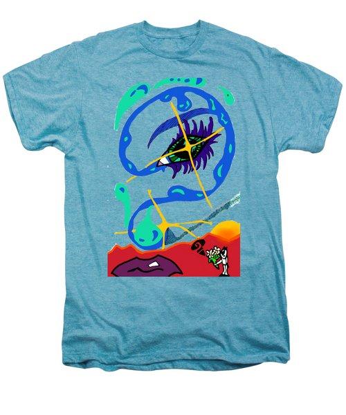 iseeU Men's Premium T-Shirt by Flyn Phoenix