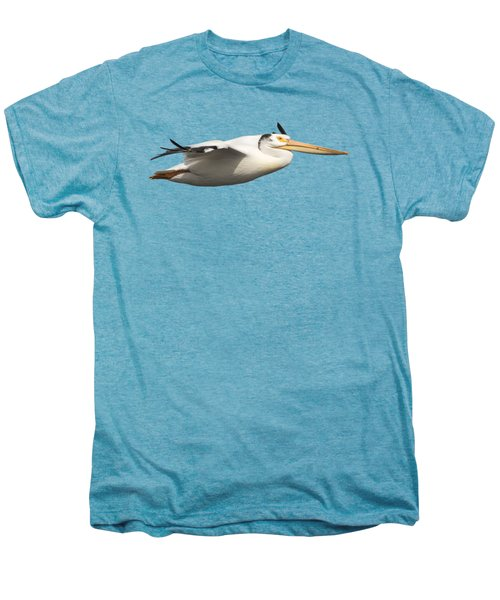 Isolated Pelican 2016-1 Men's Premium T-Shirt by Thomas Young