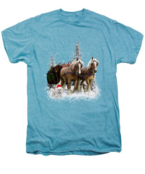 A Christmas Wish Men's Premium T-Shirt by Shanina Conway