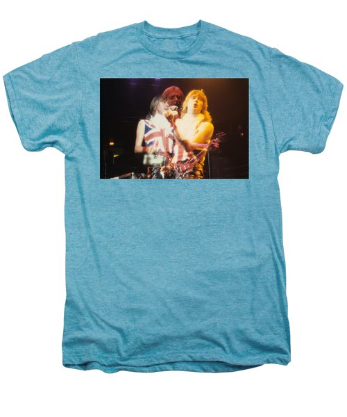 Joe And Phil Of Def Leppard Men's Premium T-Shirt by Rich Fuscia