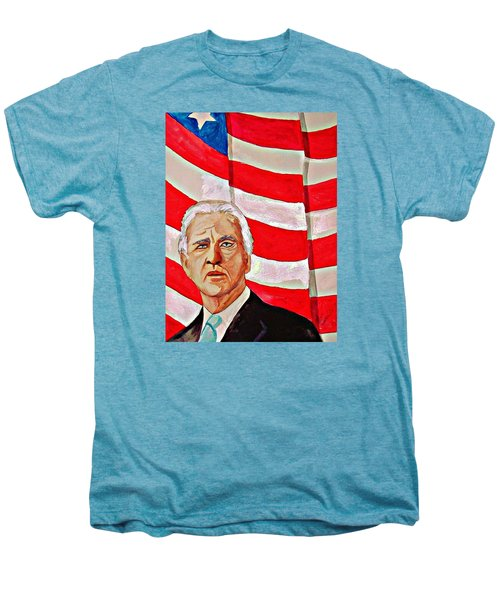 Joe Biden 2010 Men's Premium T-Shirt by Ken Higgins