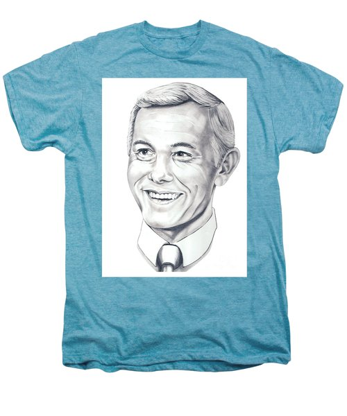 Johnny Carson Men's Premium T-Shirt by Murphy Elliott