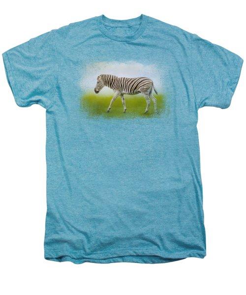 Journey Of The Zebra Men's Premium T-Shirt by Jai Johnson