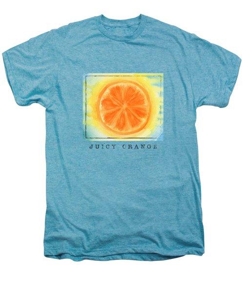 Juicy Orange Men's Premium T-Shirt by Kathleen Wong