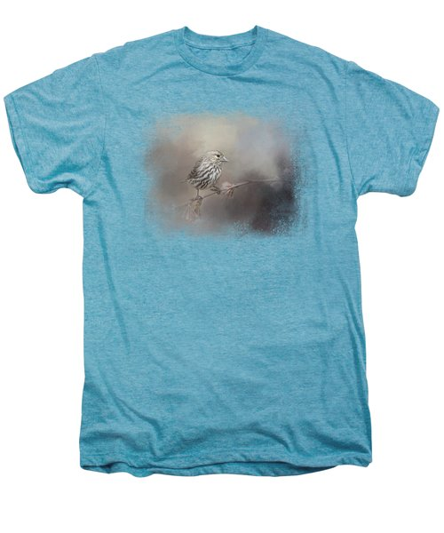Just A Whisper Of Feathers Men's Premium T-Shirt by Jai Johnson