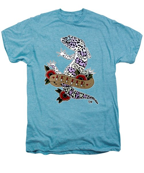 Keeper Leopard Gecko Men's Premium T-Shirt by Donovan Winterberg
