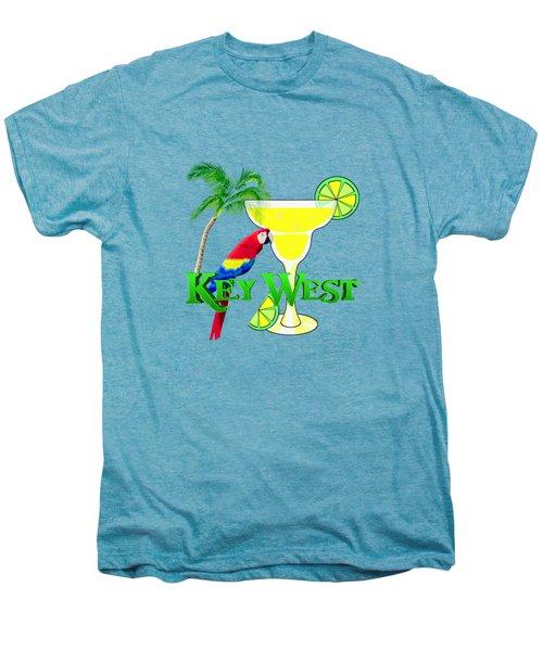 Key West Margarita Men's Premium T-Shirt by Chris MacDonald