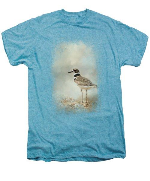 Killdeer On The Rocks Men's Premium T-Shirt by Jai Johnson