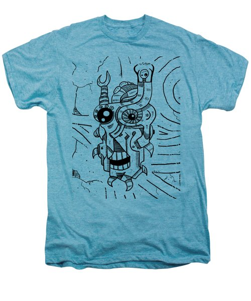 Killer Robot Men's Premium T-Shirt by Sotuland Art