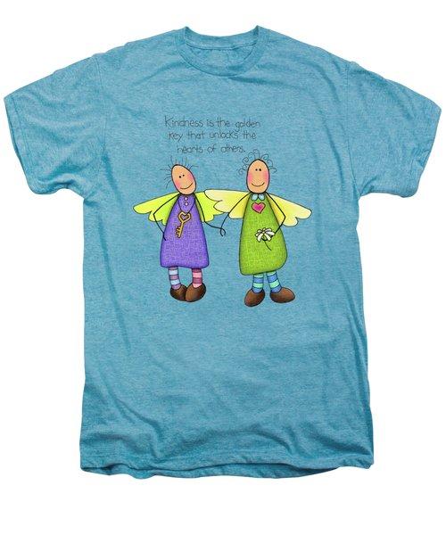 Kindness Men's Premium T-Shirt by Sarah Batalka
