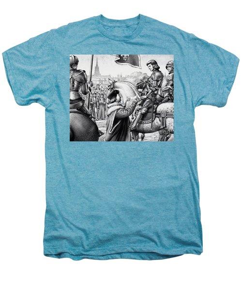 King Henry Vii Men's Premium T-Shirt by Pat Nicolle