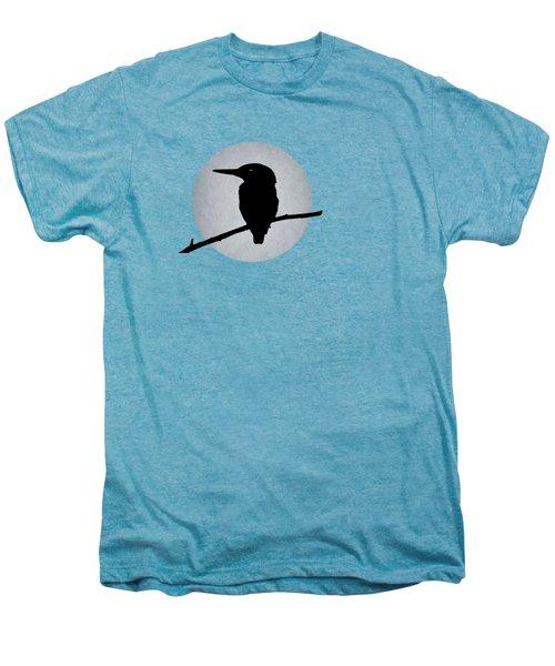 Kingfisher Men's Premium T-Shirt by Mark Rogan
