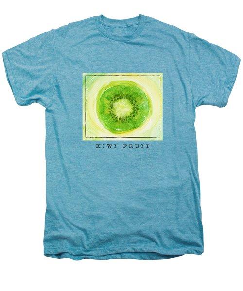 Kiwi Fruit Men's Premium T-Shirt by Kathleen Wong