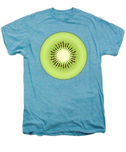 Kiwi Fruit Men's Premium T-Shirt by Miroslav Nemecek