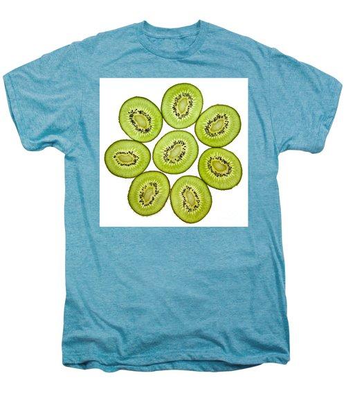 Kiwifruit Men's Premium T-Shirt by Nailia Schwarz