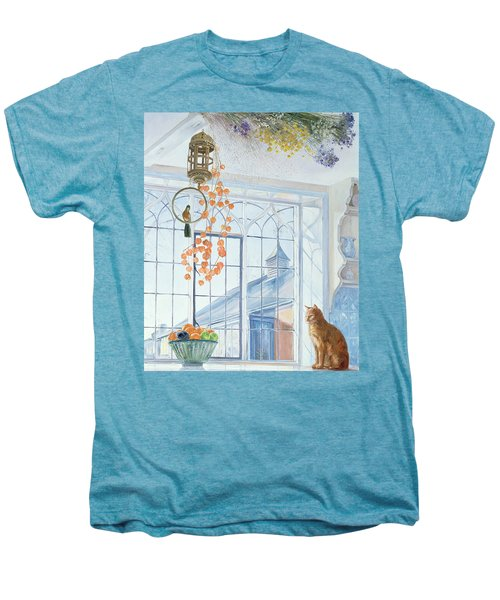 Lanterns Men's Premium T-Shirt by Timothy Easton