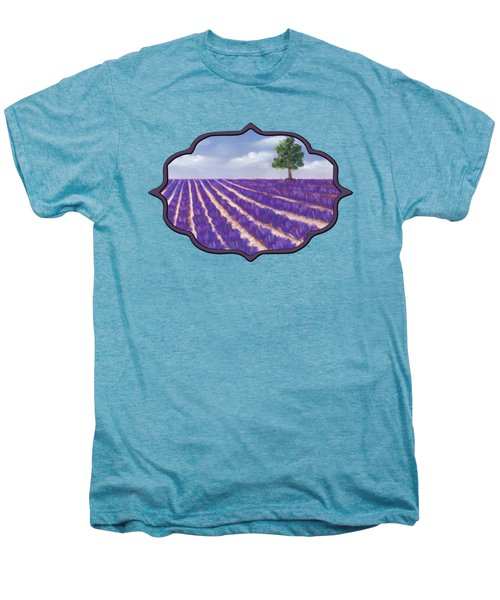 Lavender Season Men's Premium T-Shirt by Anastasiya Malakhova