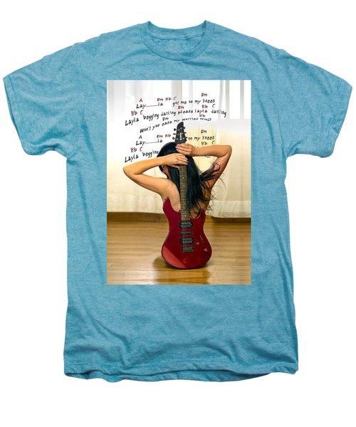Layla Men's Premium T-Shirt by Donovan Torres
