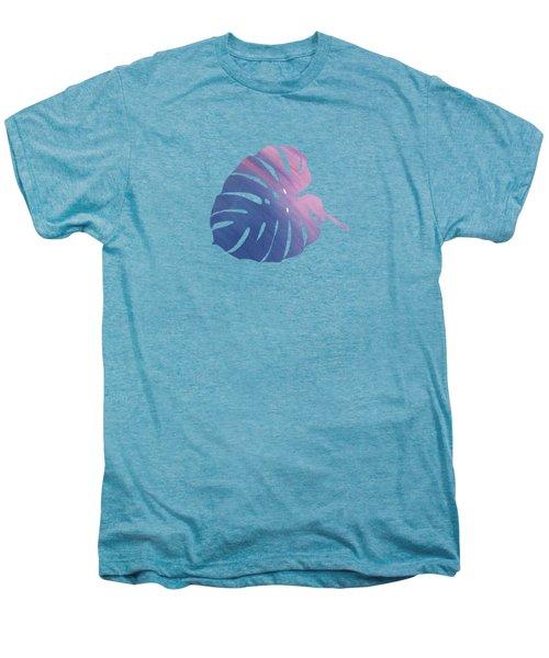 Leaf Abstract 1 Men's Premium T-Shirt by Art Spectrum