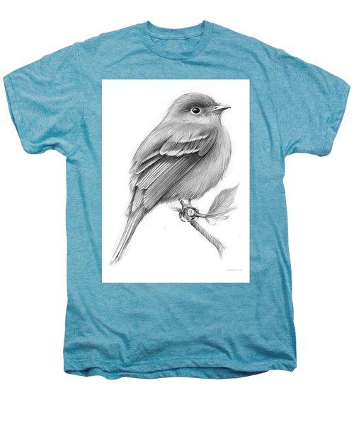Least Flycatcher Men's Premium T-Shirt by Greg Joens