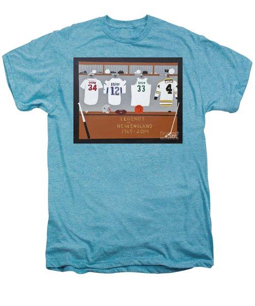 Legends Of New England Men's Premium T-Shirt by Dennis ONeil
