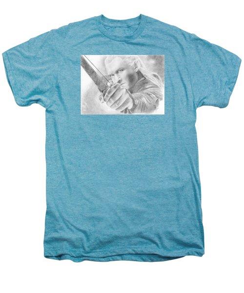 Legolas Greenleaf Men's Premium T-Shirt by Bitten Kari