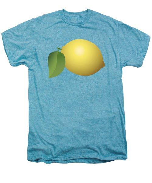 Lemon Fruit Men's Premium T-Shirt by Miroslav Nemecek