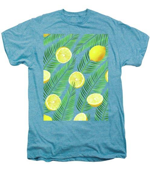 Lemons Men's Premium T-Shirt by Uma Gokhale