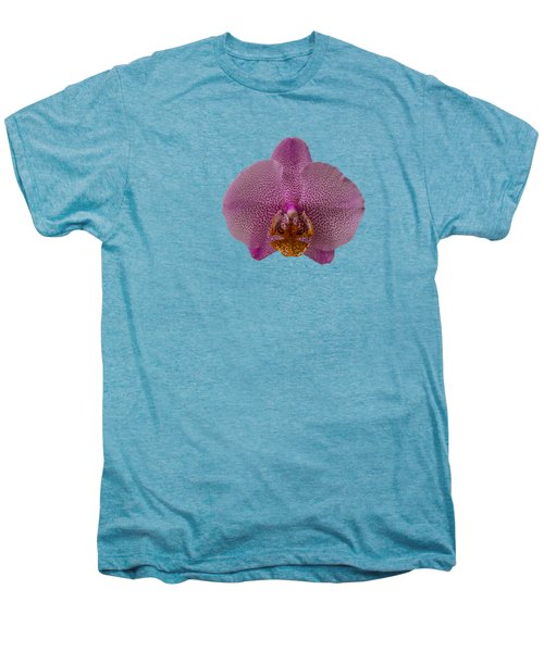 Leopard Prince Phalaenopsis Orchid Men's Premium T-Shirt by Zina Stromberg