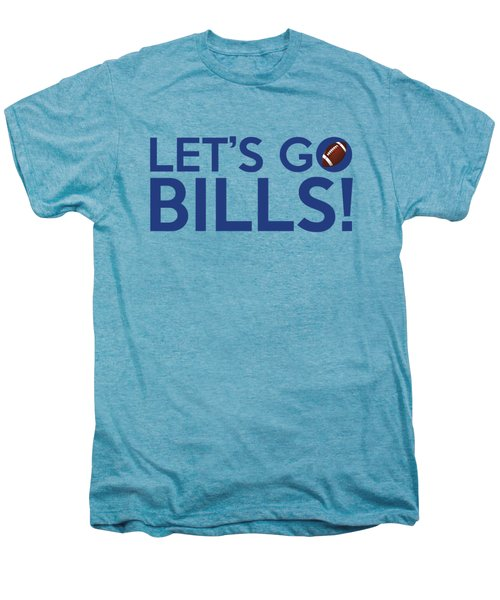 Let's Go Bills Men's Premium T-Shirt by Florian Rodarte