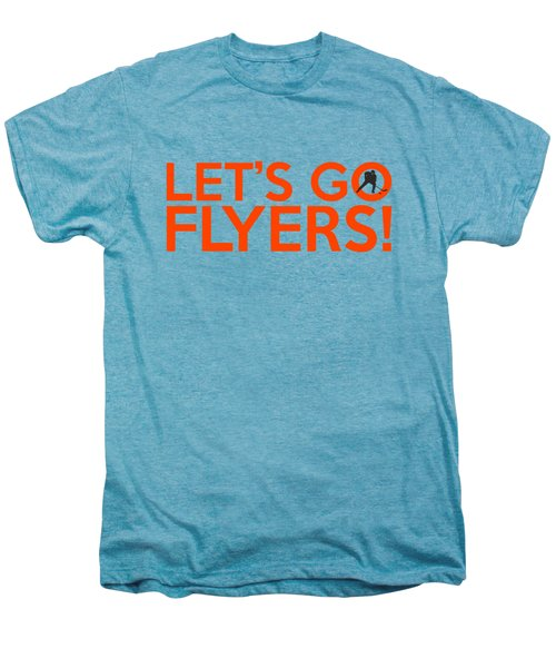Let's Go Flyers Men's Premium T-Shirt by Florian Rodarte