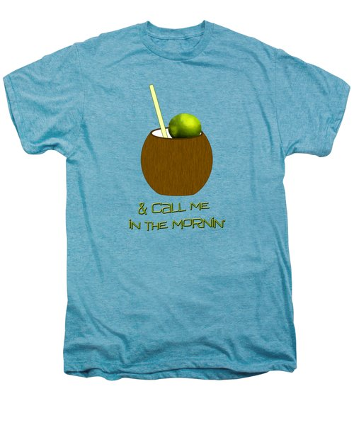 Lime In The Coconut Men's Premium T-Shirt by Methune Hively