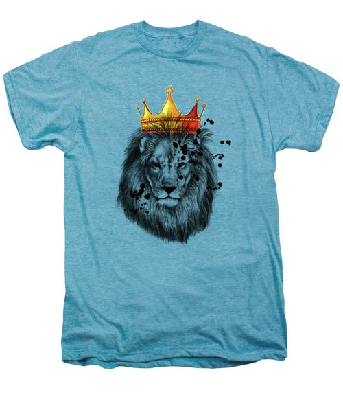 Lion King  Men's Premium T-Shirt by Mark Ashkenazi