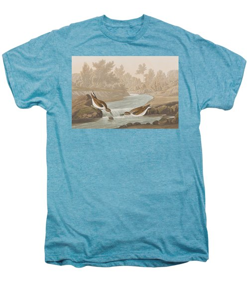 Little Sandpiper Men's Premium T-Shirt by John James Audubon