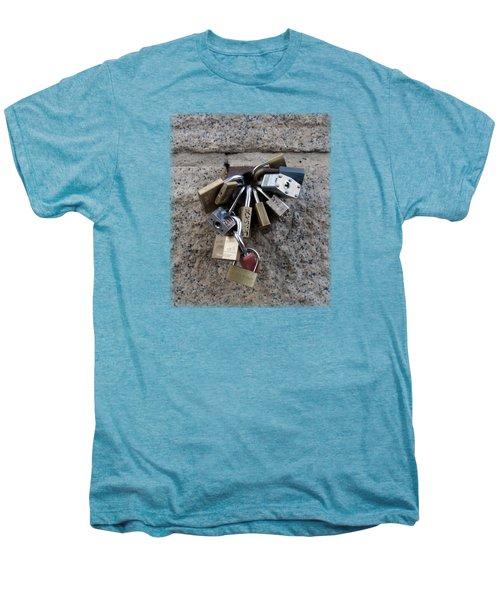 Locked Men's Premium T-Shirt by Sinder Singh