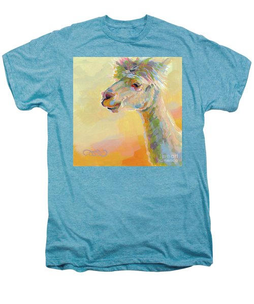 Lolly Llama Men's Premium T-Shirt by Kimberly Santini