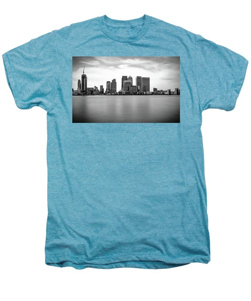 London Docklands Men's Premium T-Shirt by Martin Newman