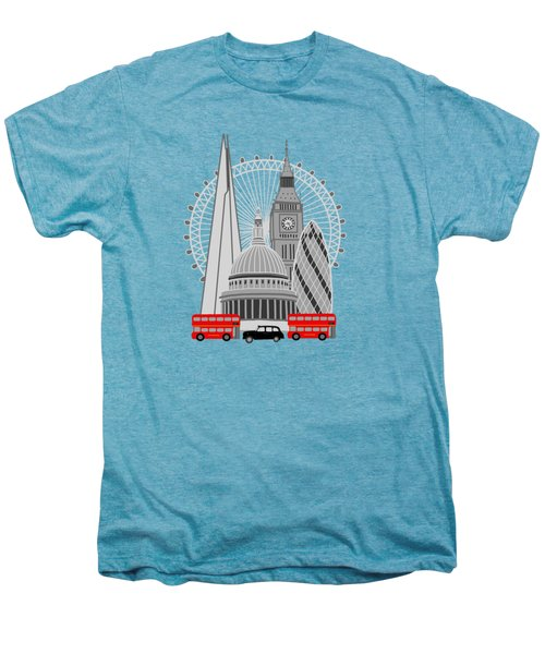 London Scene Men's Premium T-Shirt by Imagology Design