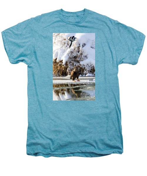 Lookout Above Men's Premium T-Shirt by Mike Dawson
