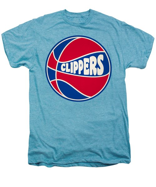 Los Angeles Clippers Retro Shirt Men's Premium T-Shirt by Joe Hamilton