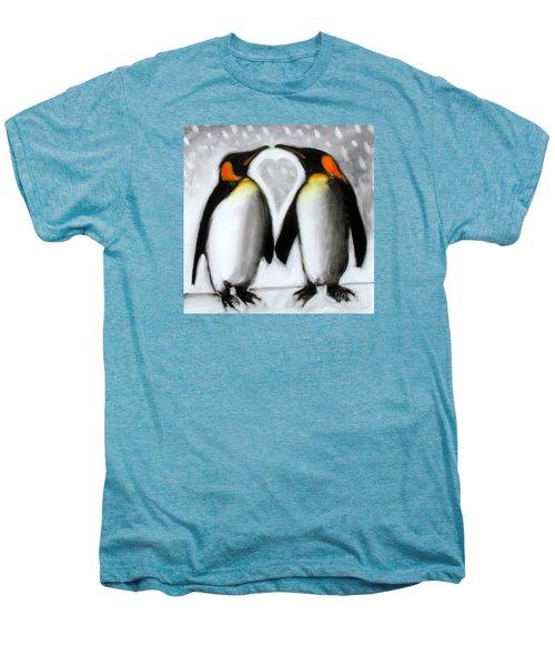 Love Men's Premium T-Shirt by Paul Powis