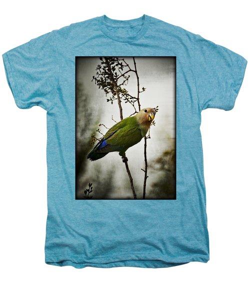 Lovebird  Men's Premium T-Shirt by Saija  Lehtonen