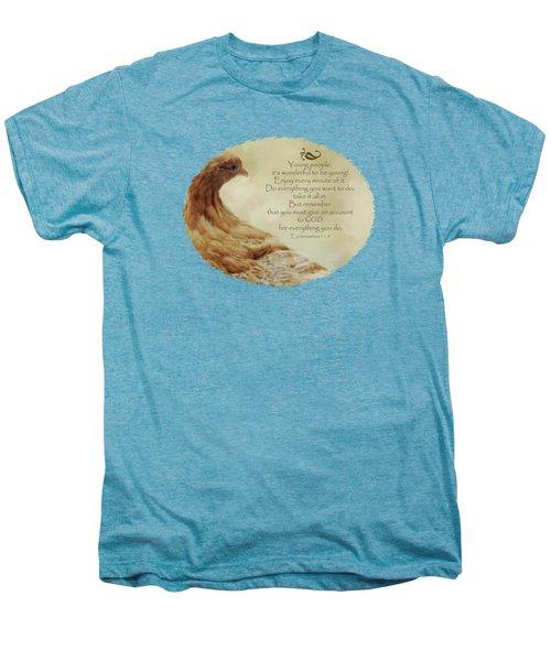 Lovely Lace - Verse Men's Premium T-Shirt by Anita Faye