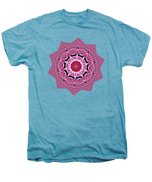 Loving Rose Mandala By Kaye Menner Men's Premium T-Shirt by Kaye Menner