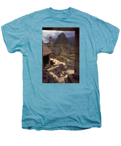 Men's Premium T-Shirt featuring the photograph Machu Picchu by Travel Pics