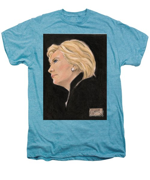 Madame President Men's Premium T-Shirt by P J Lewis