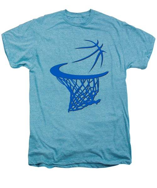 Magic Basketball Hoop Men's Premium T-Shirt by Joe Hamilton
