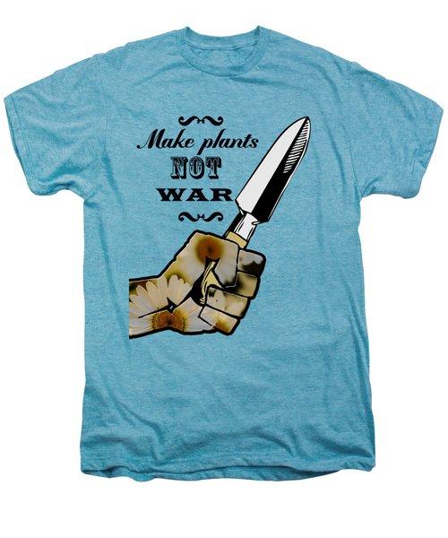 Make Plants,not War Dictionary Art Men's Premium T-Shirt by Jacob Kuch